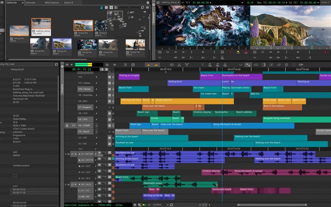 Avid Media Composer 2020.4